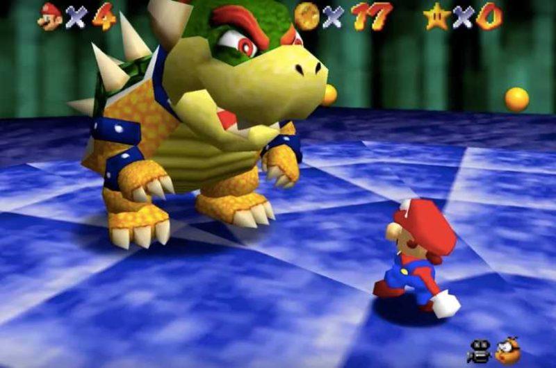 Bowser Beaten In Super Mario 64 Without A Joystick Eteknix