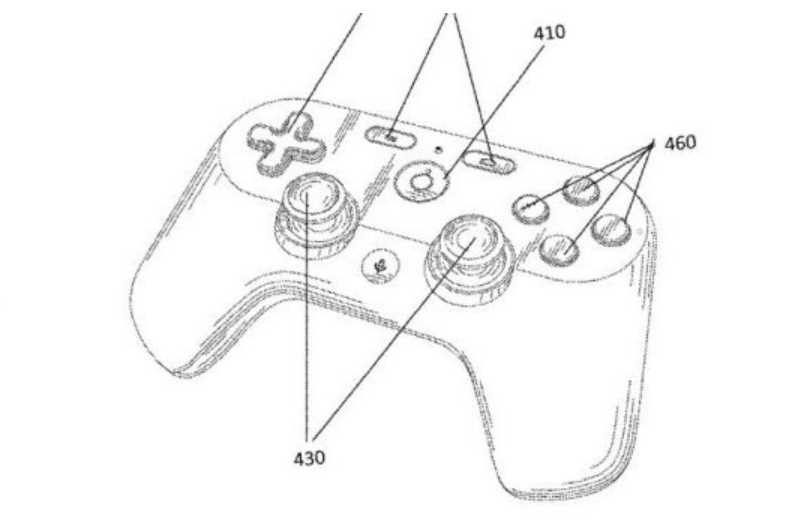 Google Files Patent For A Gaming Controller