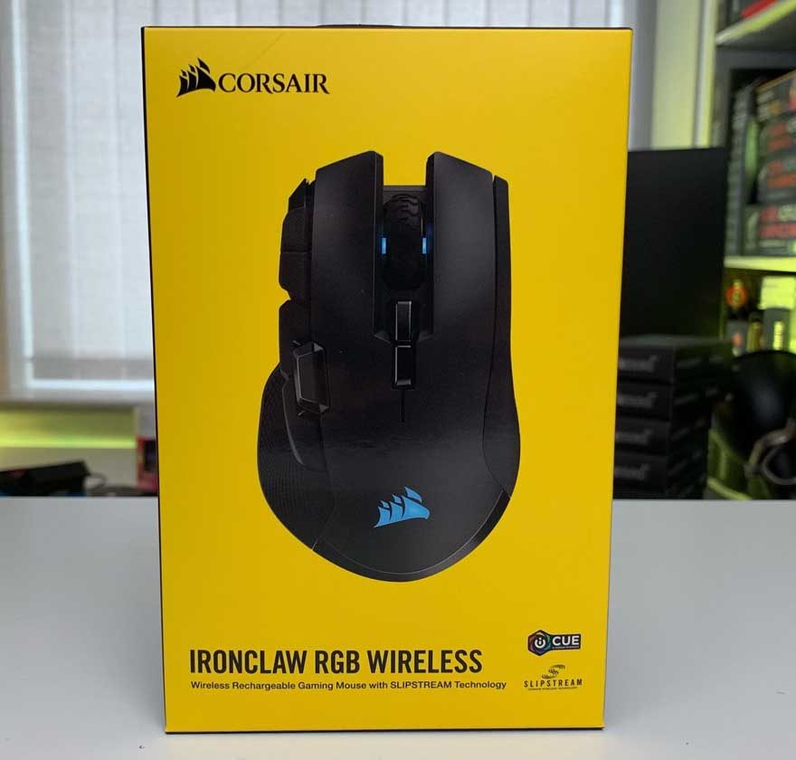 Corsair Ironclaw Wireless Gaming Mouse Review | eTeknix