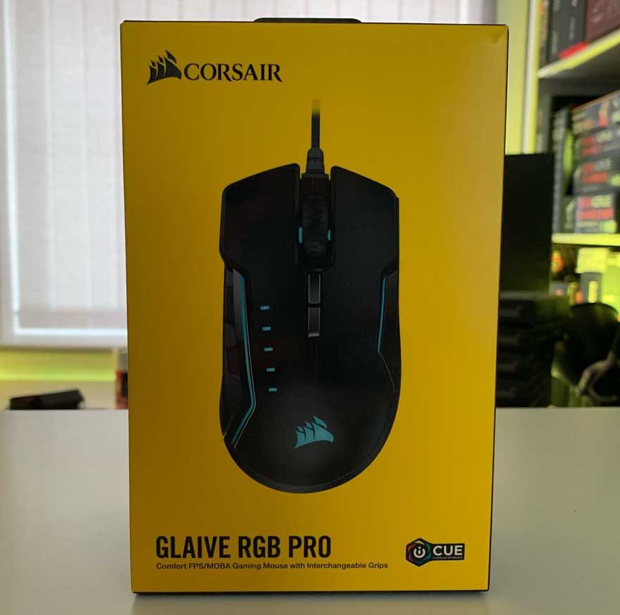 Corsair Glaive RGB Pro Gaming Mouse Review | eTeknix