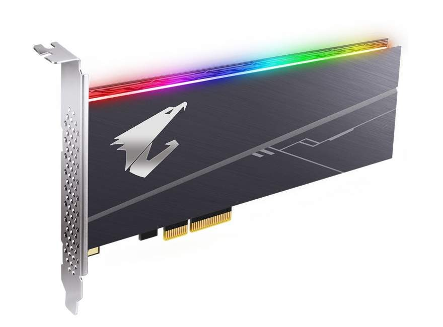 Gigabyte Launches AORUS PCIe NVMe SSD with RGB LED   eTeknix