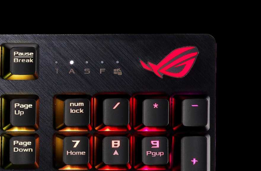 ASUS Launching ROG Strix Scope Mechanical Gaming Keyboard