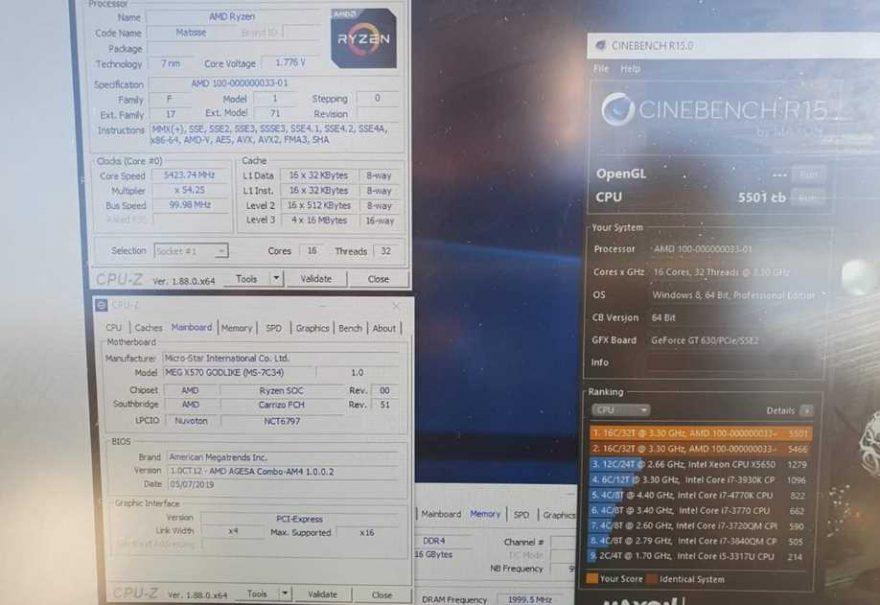Overclocked AMD Ryzen 9 3950X Breaks Its Own World Record | eTeknix