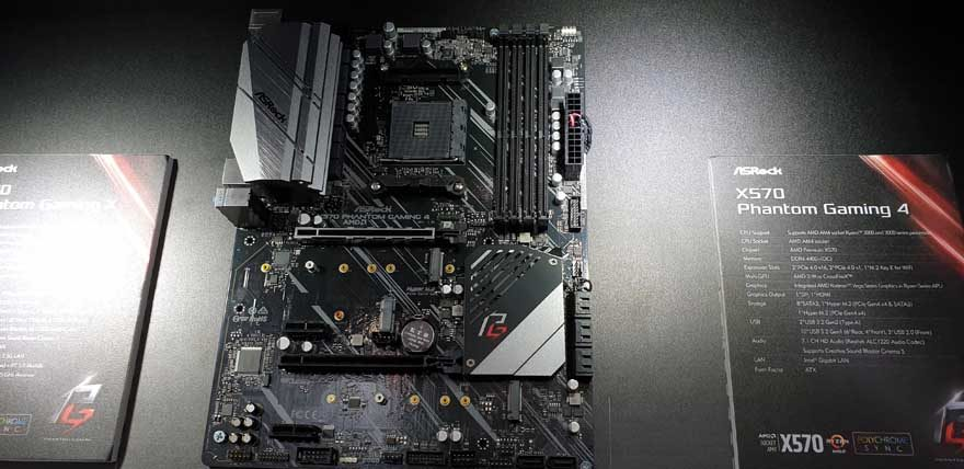 ASRock X570 Motherboards on Display at Computex 2019 | eTeknix