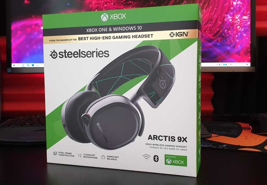 Steelseries Arctis 9X Xbox One Wireless Review | eTeknix