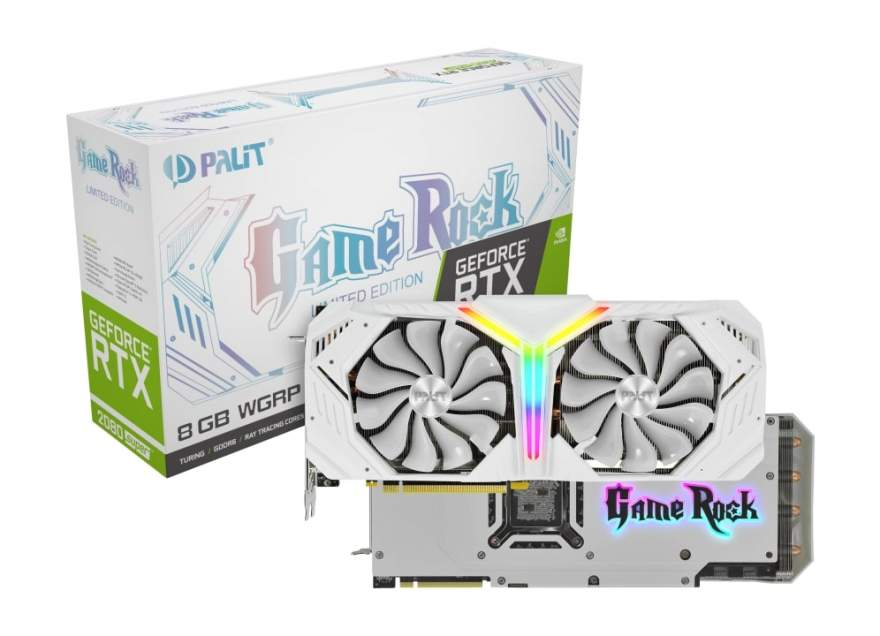 Palit Announces the RTX 2080 Super White GameRock Premium