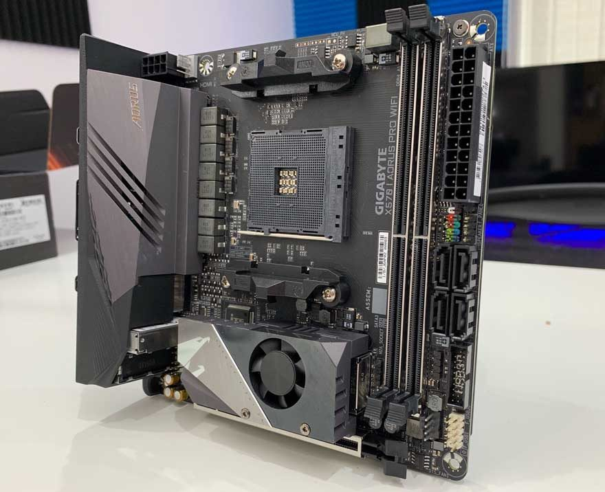 Gigabyte X570 I AORUS Pro WiFi Motherboard Review | eTeknix