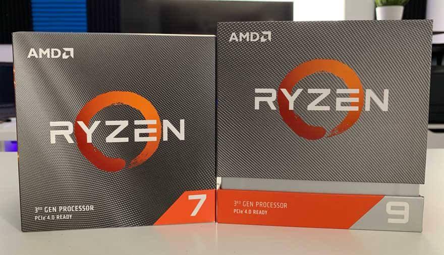 AMD Ryzen 7 3700X & Ryzen 9 3900X Processor Review | eTeknix