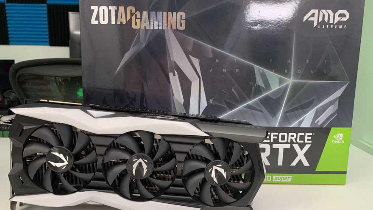 Zotac RTX 2080 SUPER AMP Extreme Review   eTeknix