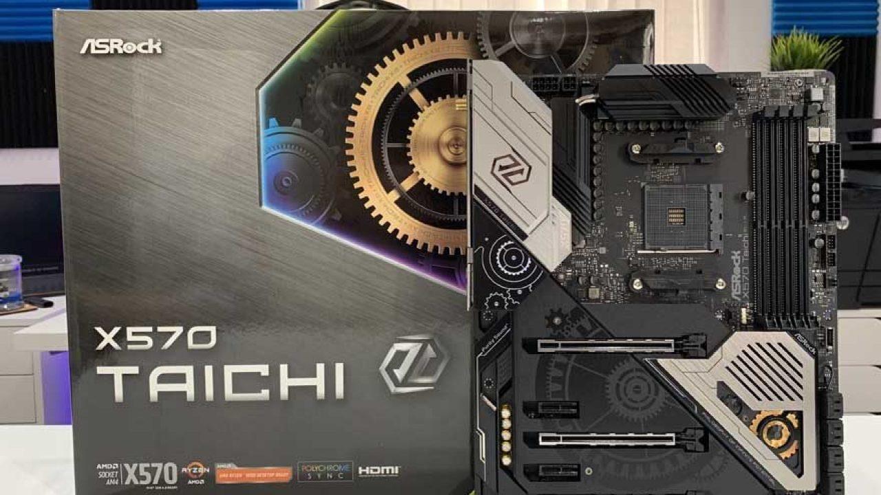 ASRock X570 Taichi Motherboard Review | eTeknix