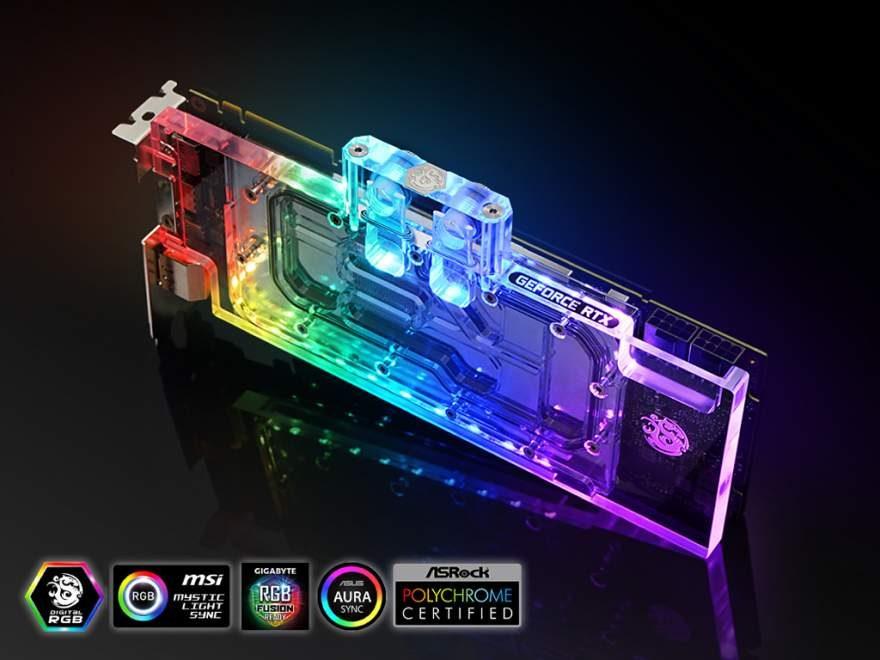 Bitspower Launches Lotan RGB Block for RTX 2080 Super | eTeknix