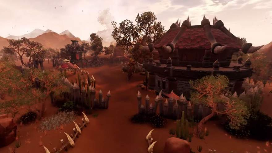 See World of Warcraft Recreated in Unreal Engine 4