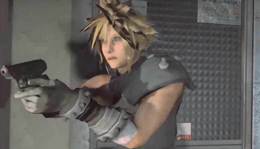 Resident Evil 2 Mod Adds Cloud Strife from FFVII | eTeknix