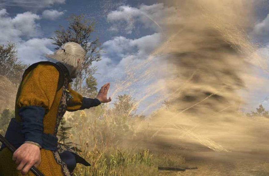 The Witcher 3 Mod Adds Huge Destruction Magic! | eTeknix