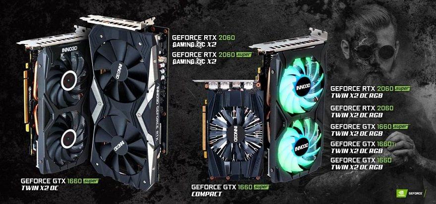 Inno3D Reveals New Gaming OC X2 & Twin X2 OC RGB GPUs   eTeknix