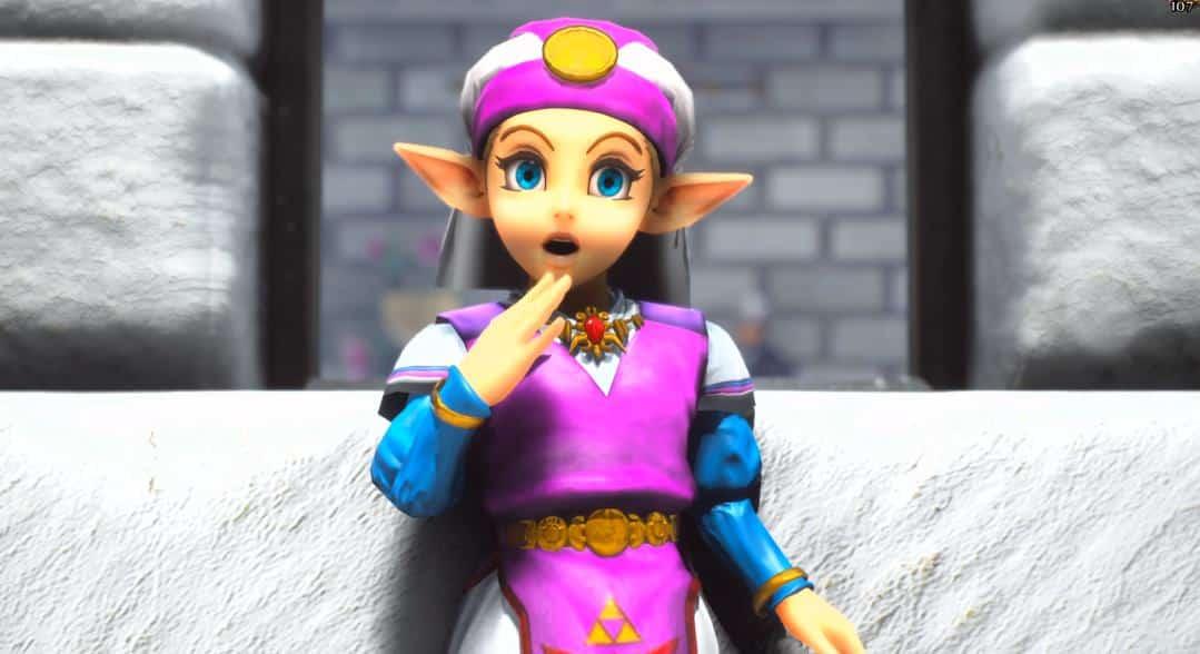 Zelda OoT UE4 Fan Remake Releases Stunning Update | eTeknix