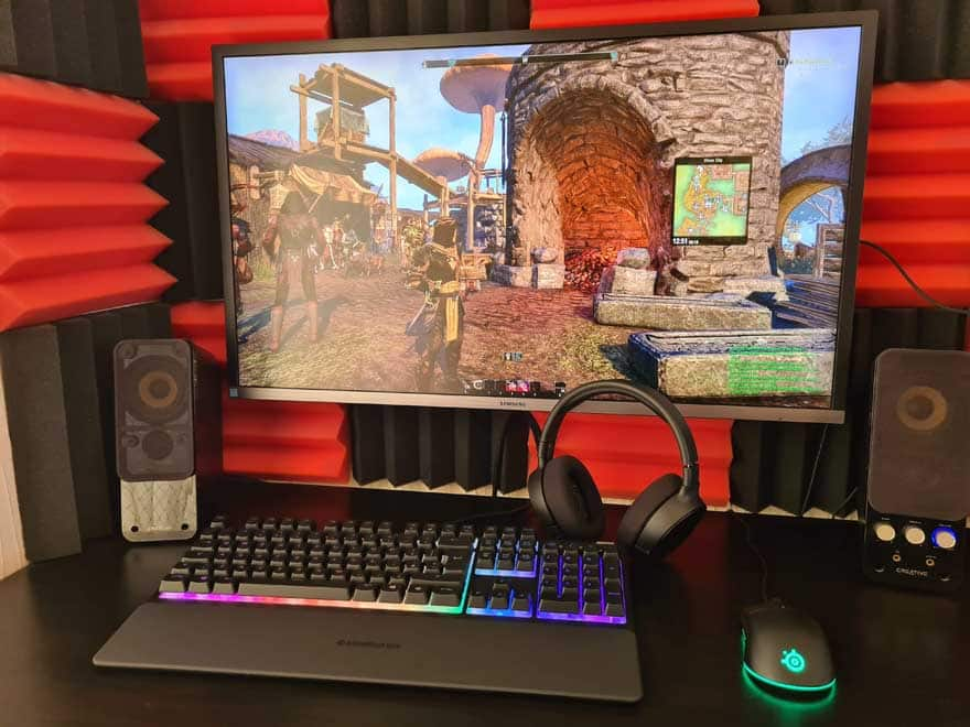 Mid-Budget SteelSeries Gaming Setup Review 38