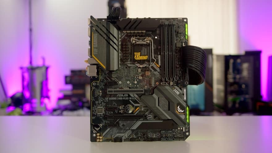 ASUS TUF Gaming Z490-PLUS (Wi-Fi) Motherboard Review 40