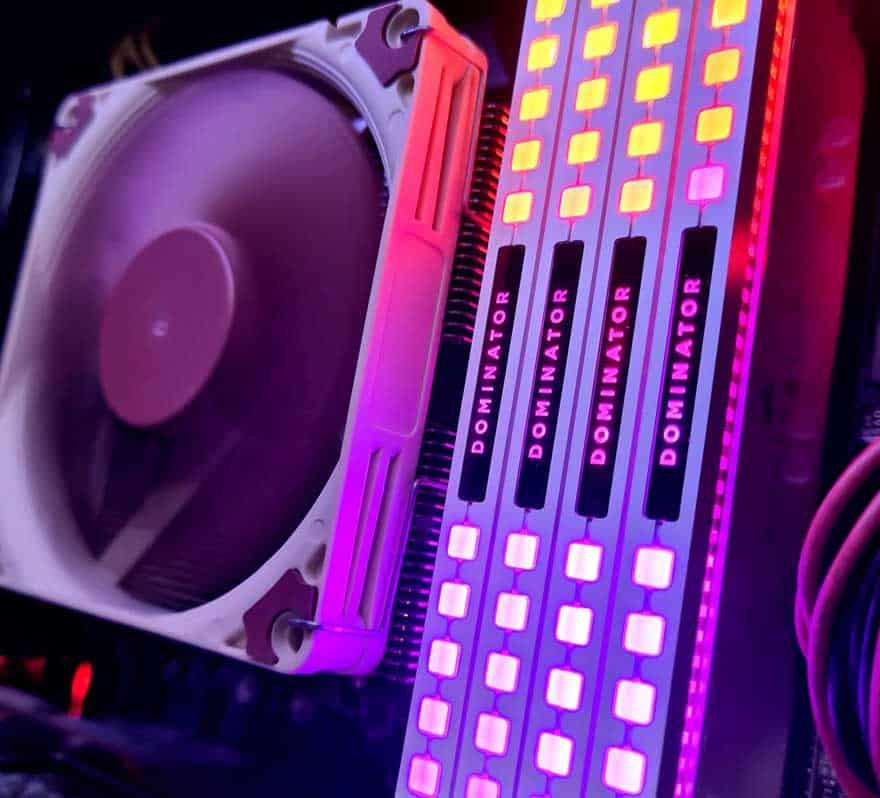 Corsair Dominator Platinum RGB 3600 MHz DDR4 Memory Review 4