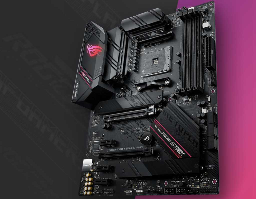 ASUS ROG STRIX B550-F Gaming Motherboard Review 34