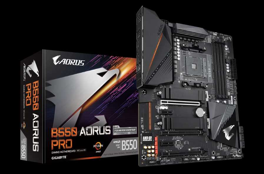 Gigabyte B550 AORUS Pro Motherboard Review 34
