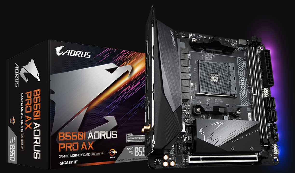 Gigabyte B550I AORUS PRO AX Motherboard Review 36