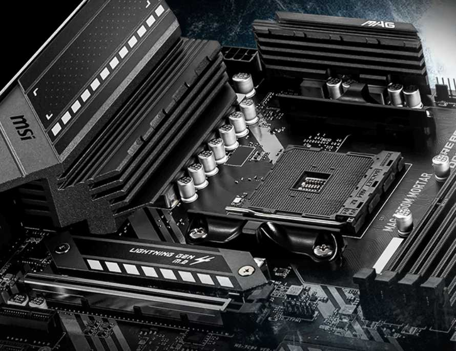 MSI MAG B550M Mortar Motherboard Review 30