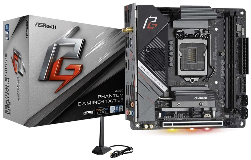 ASRock Z490 Phantom Gaming-ITX/TB3 Motherboard Review 14