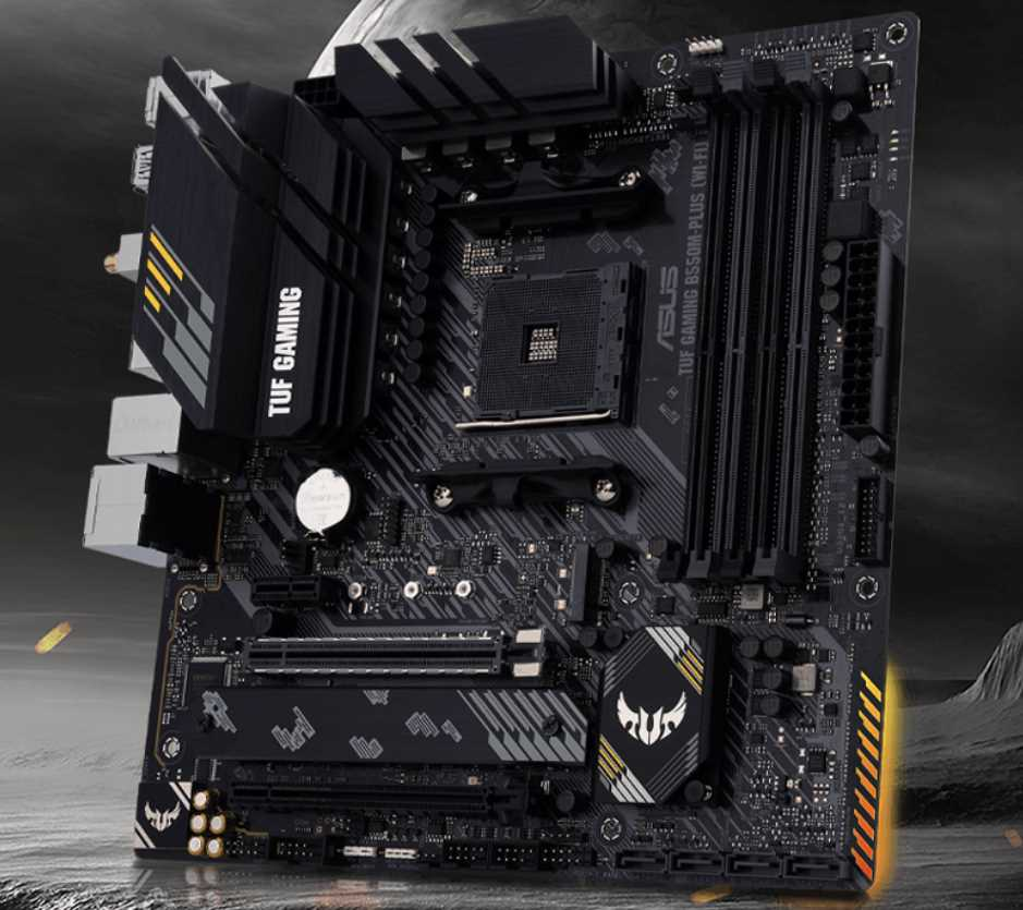 ASUS TUF Gaming B550M-PLUS (Wi-Fi) Motherboard Review 26
