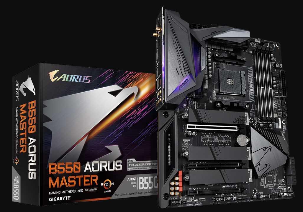 Gigabyte B550 AORUS Master Motherboard Review 38