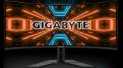 gigabyte G34WQC 34-inch Ultra-wide Monitor