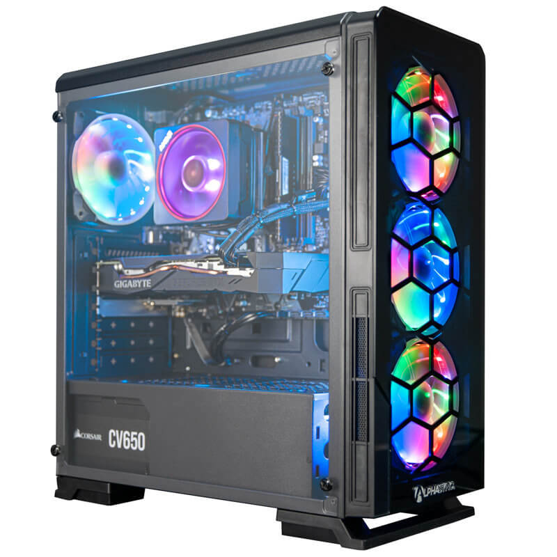 AlphaSync Luna Diamond-7 Gaming PC Review 28
