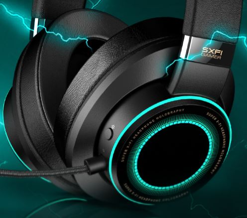 Creative SXFI Gamer Headset Review 10