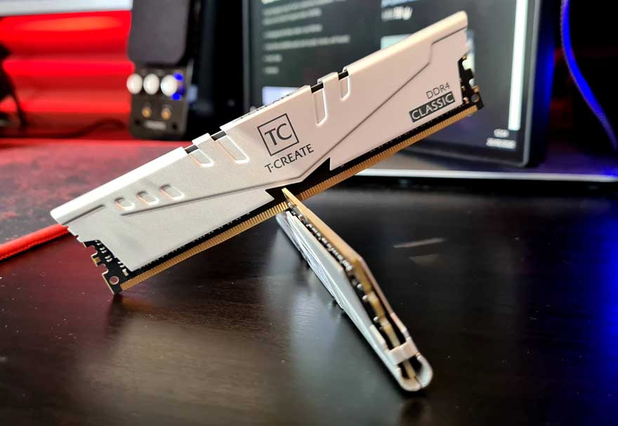 TeamGroup T-CREATE 3200 Mhz DDR4 Memory Review 2