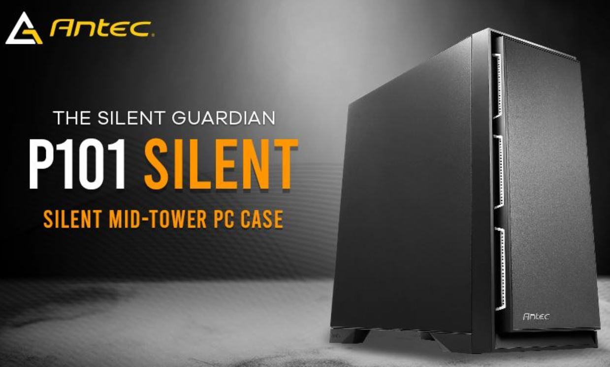 Antec P101 Silent Mid-Tower Case Review - No Glass or RGB Here! 8