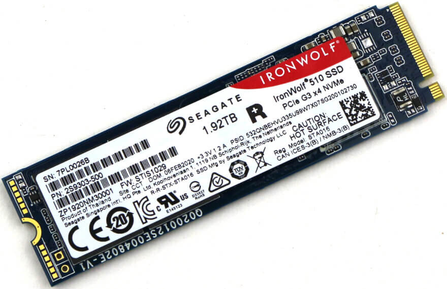 Seagate IronWolf 510 1.92TB NAS SSD Review 34