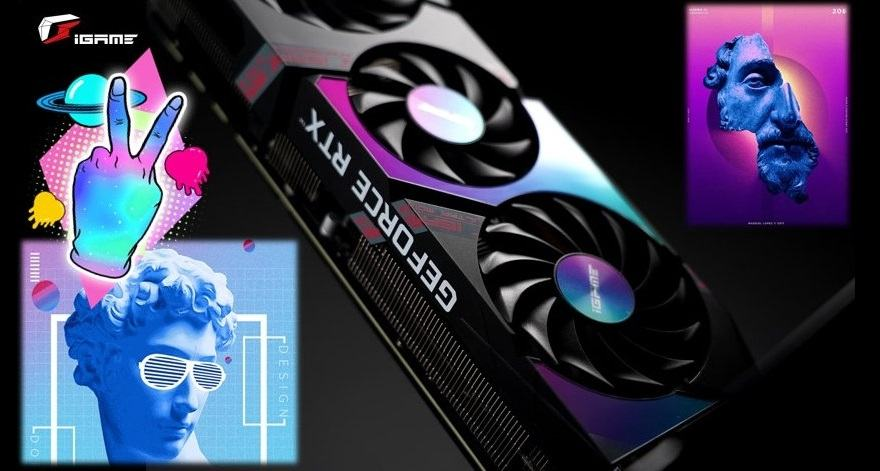 colorful Colorful GeForce RTX 3080 iGame Ultra limited white edition