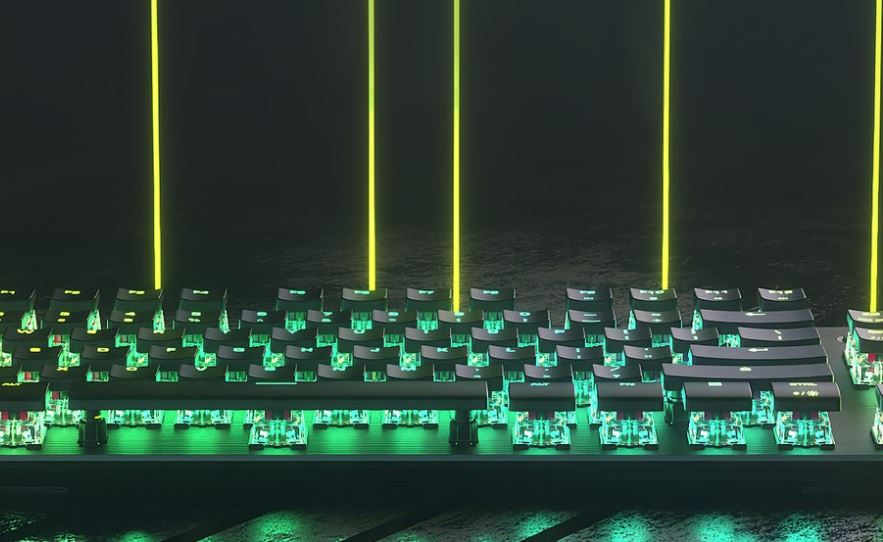 Roccat Vulcan TKL Pro Optical RGB Keyboard 8