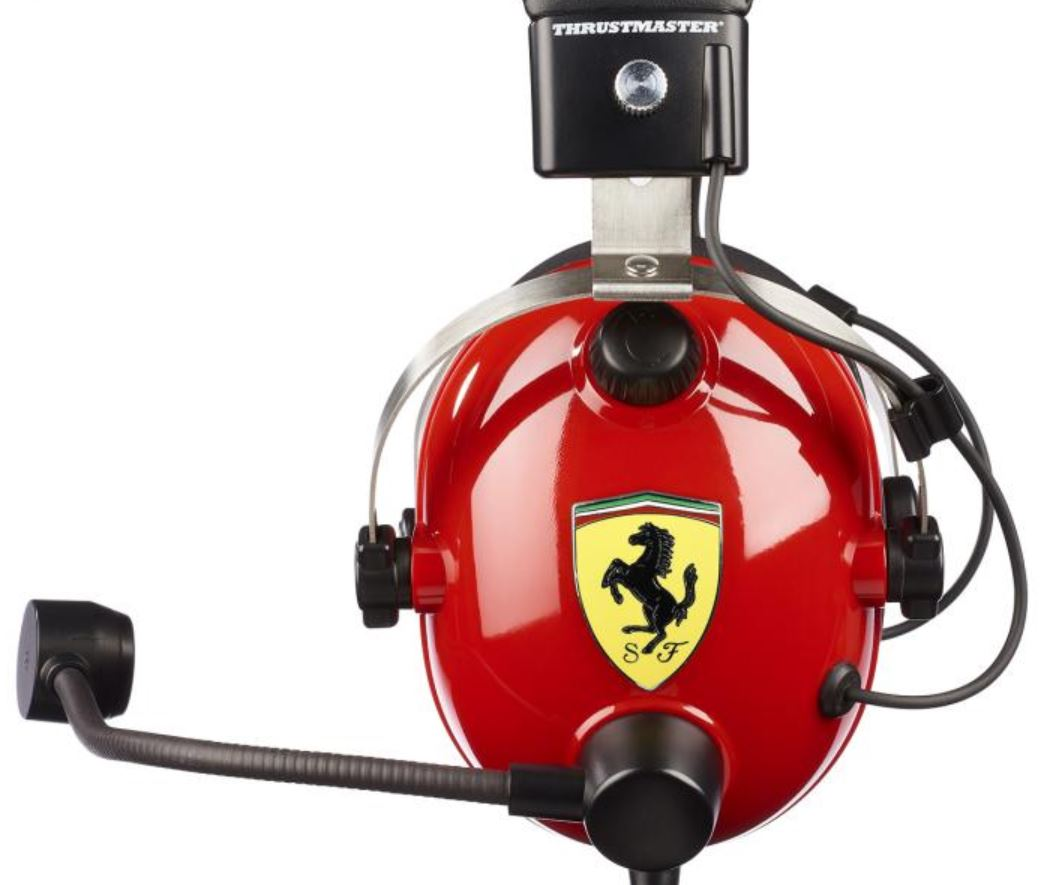 Thrustmaster T.Racing Scuderia Ferrari Edition-DTS Gaming Headset Review 26