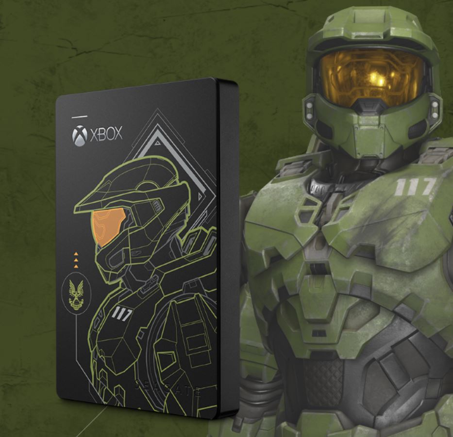 Seagate Game Drive 5TB Halo Master Chief Limited Edition Review 30