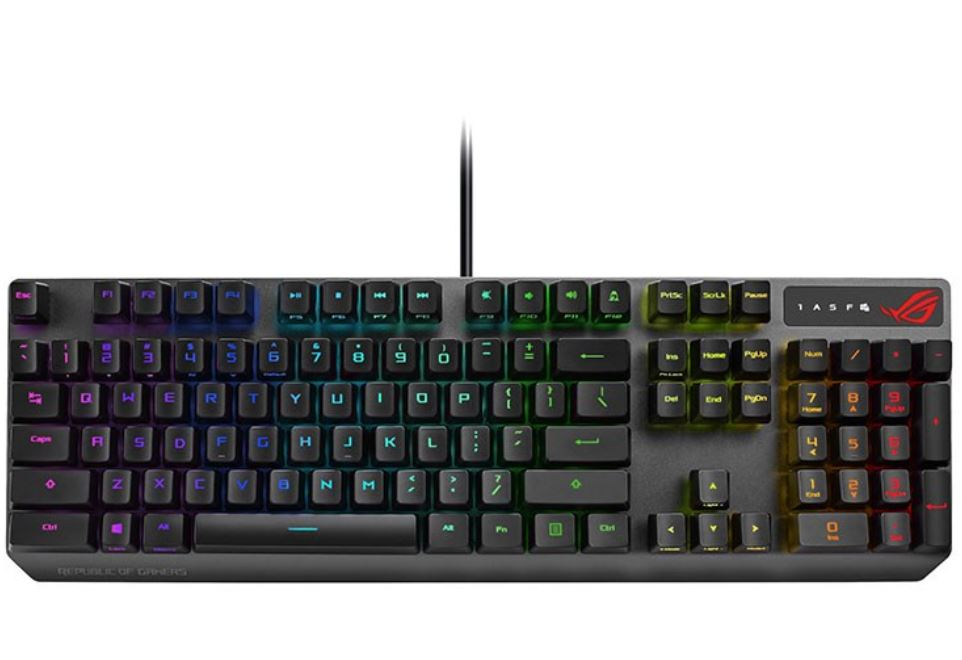 ASUS RoG STRIX Scope RX Optical Mechanical Keyboard Review 4