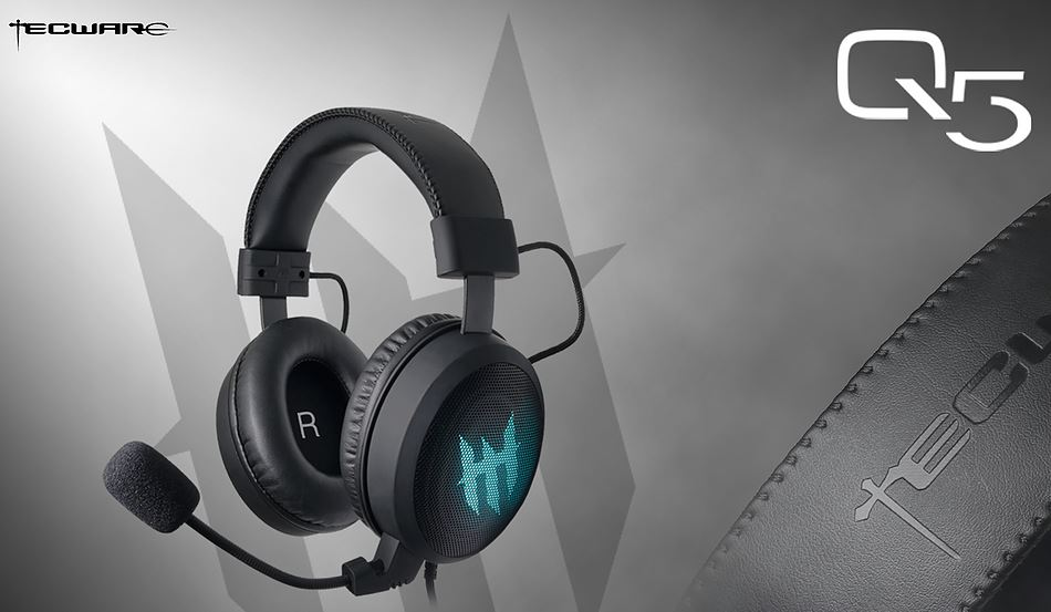 Tecware Q5 HD 7.1 RGB Gaming Headset Review 24