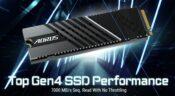 Gigabyte Unveils the AORUS Gen4 7000s M.2 NVMe SSD 26
