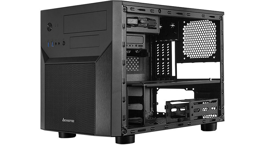 Chieftec Unveils its CI-02B-OP M-ATX Cube PC Case