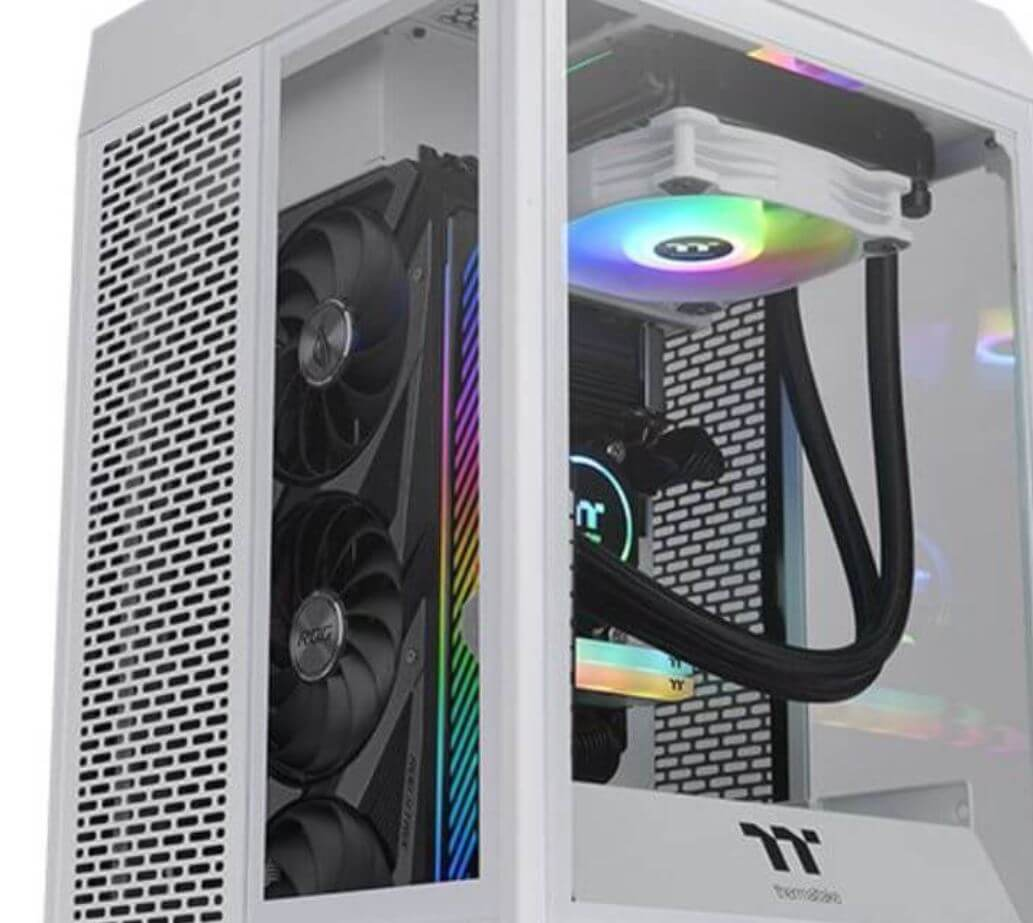 Thermaltake The Tower 100 Snow Edition Case Review 6