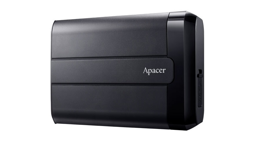 Apacer Unveils its AC732 Military-Grade Portable Hard Drive