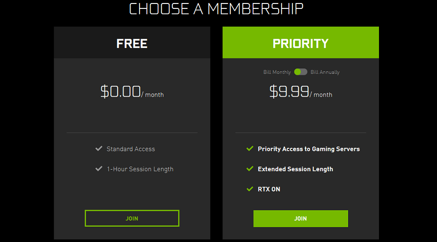 Nvidia GeForce NOW 'Premium' Membership Cost is Doubled