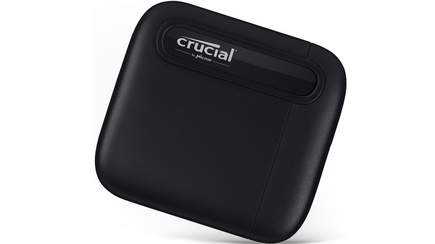 Crucial Launches New 500GB/4TB X6 Portable SSD Variants