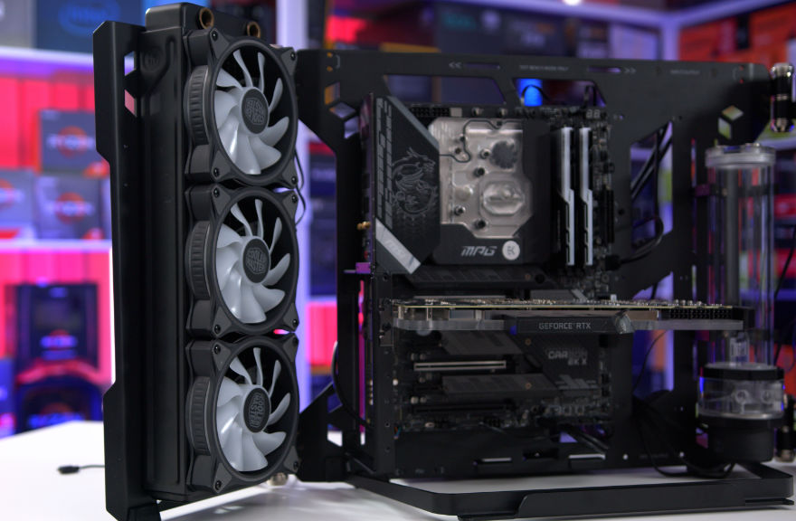 MasterFrame 700 – The INSANE Watercooled Gaming PC Is COMPLETE!