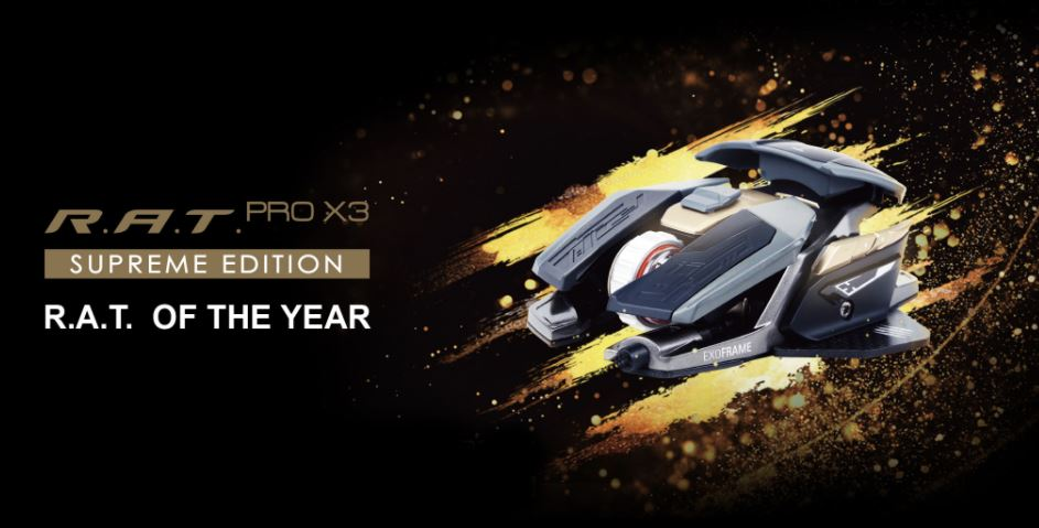 Mad Catz R.A.T. Pro X3 Supreme Edition Gaming Mouse
